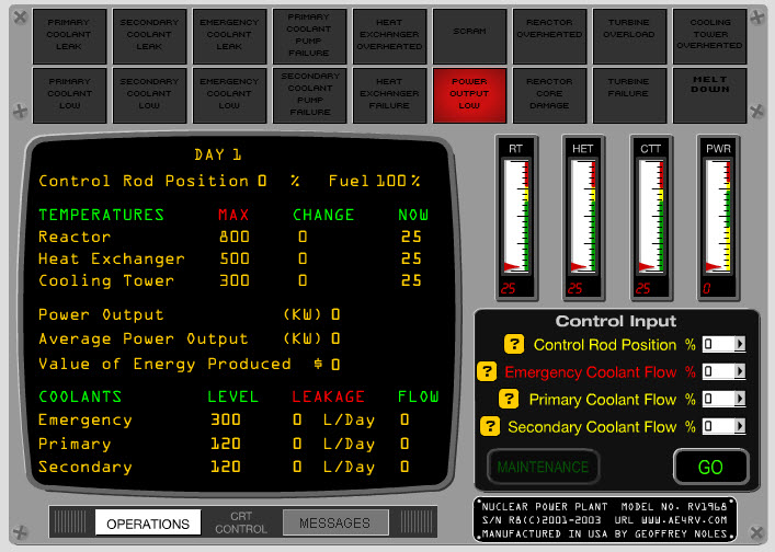 Nuclear Power Plant Simulator Game A Long Long Way From